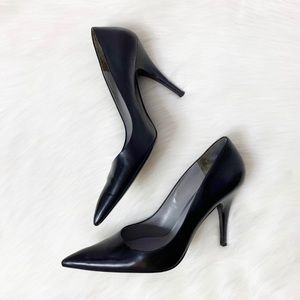"Via Spiga Pointed Toe Classic Stiletto 4.5"" Heel"